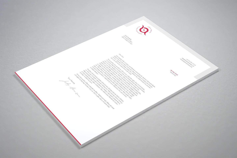 Persönliches Briefpapier von Lukas Ammann