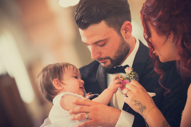 Hochzeit von Manuela & Andreas, Taufe