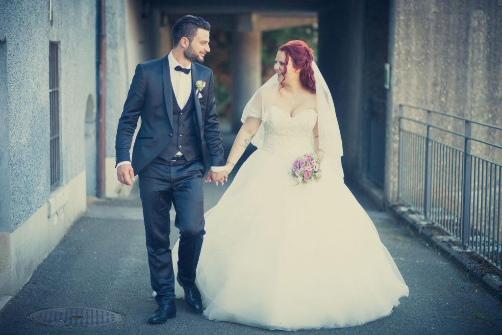 Hochzeit von Manuela & Andreas, Brautpaarshooting
