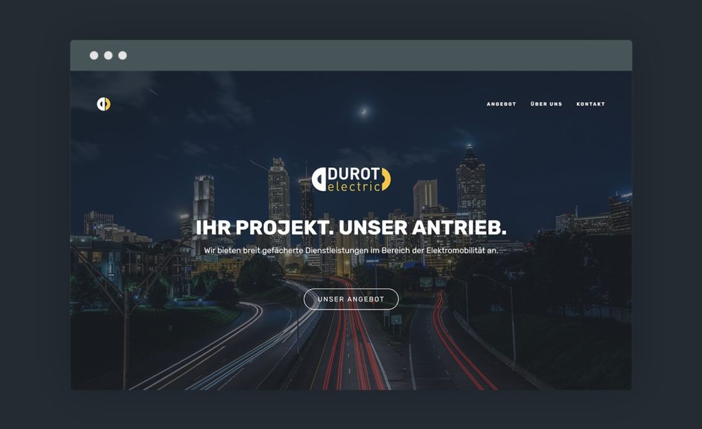 Vorschau der Website von Durot Electric